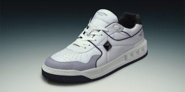 Low-top One Stud sneakers, by Valentino Garavani.