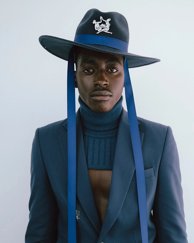 Thebe Magugu set to debut his menswear collection at Pitti Uomo 100.