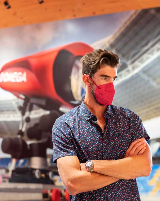 Omega and Michael Phelps