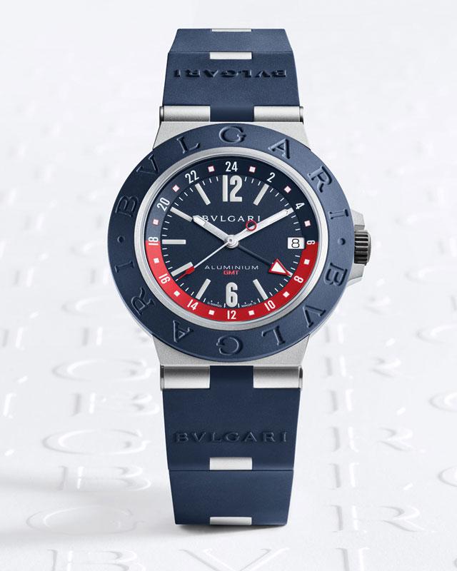 Bulgari Aluminium GMT front