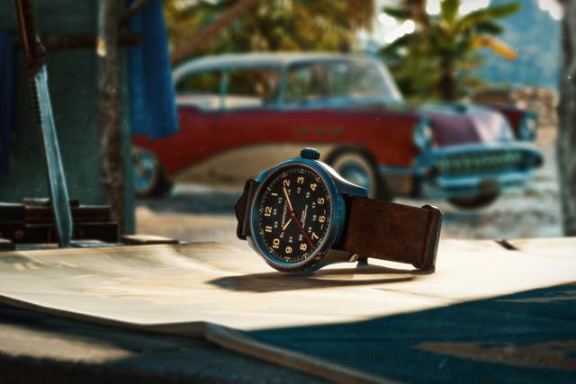 Far Cry 6 Hamilton watch lifestyle